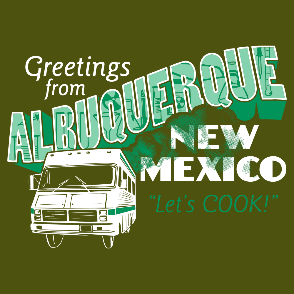 Greetings From Albuquerque T-Shirt | SnorgTees