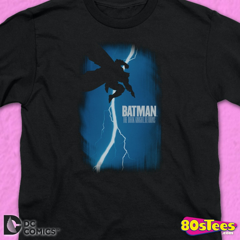 Youth The Dark Knight Returns Comic Book Cover Batman Shirt