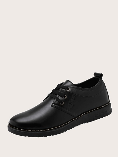 Lace-up Front Dress Shoes