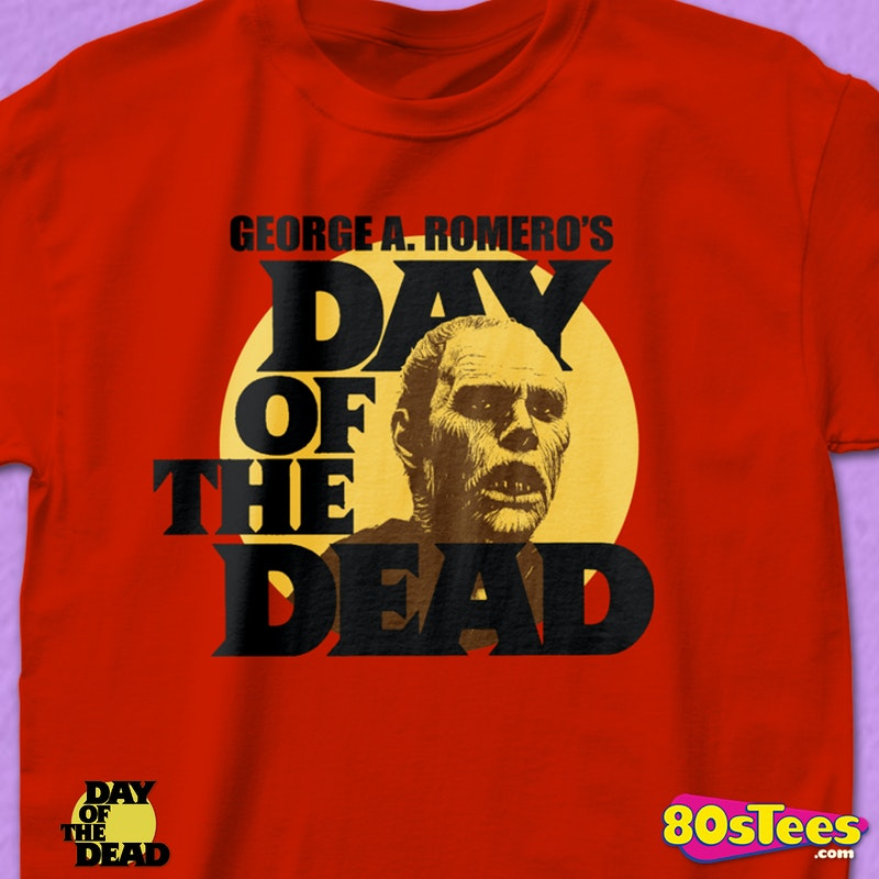 Red Day of the Dead T-Shirt