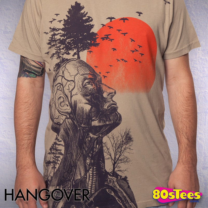 Human Tree Hangover T-Shirt by Junk Food