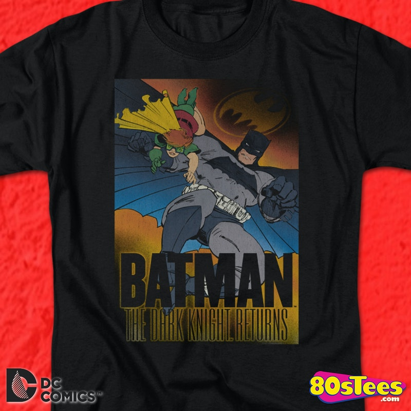 The Dark Knight Returns Batman T-Shirt