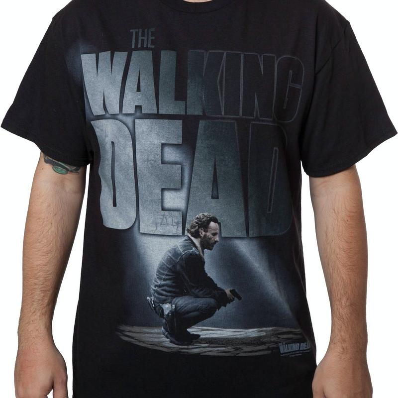 Rick Walking Dead T-Shirt