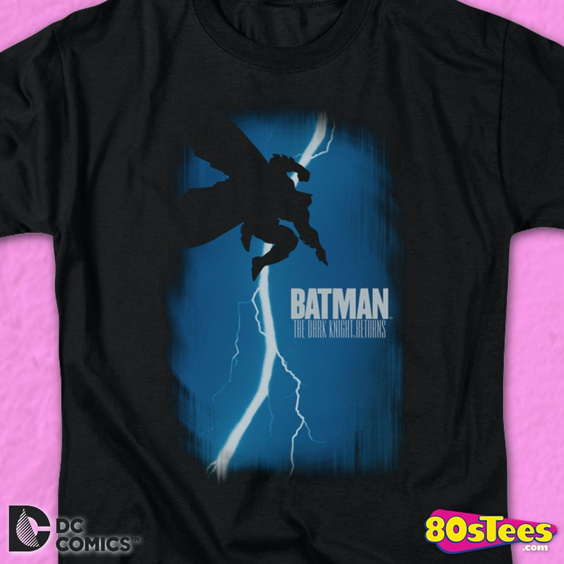 The Dark Knight Returns Comic Book Cover Batman T-Shirt