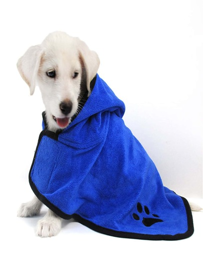 1pc Dog Bathrobe
