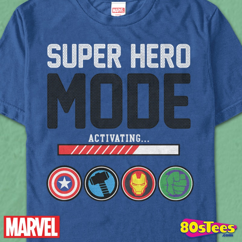 Avengers Super Hero Mode T-Shirt