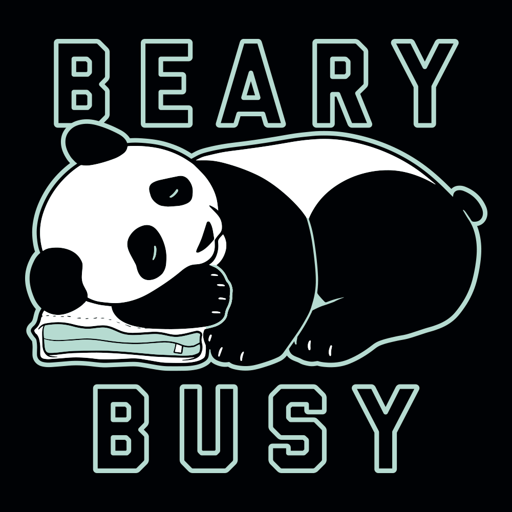 Beary Busy T-Shirt | SnorgTees