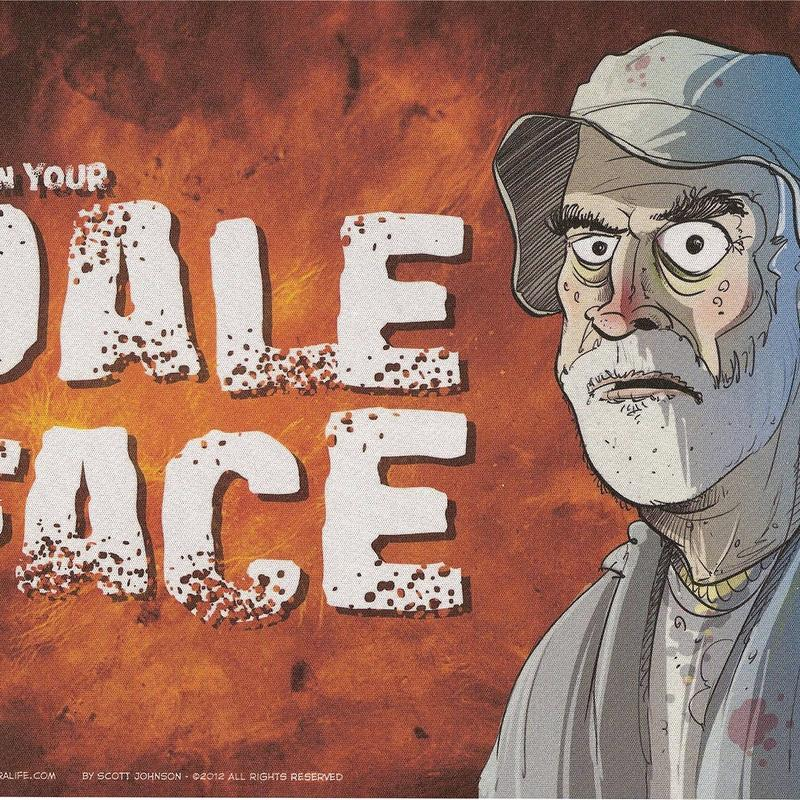 Dale Face Mousepad