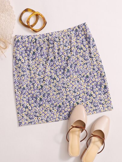 Ditsy Floral Skirt