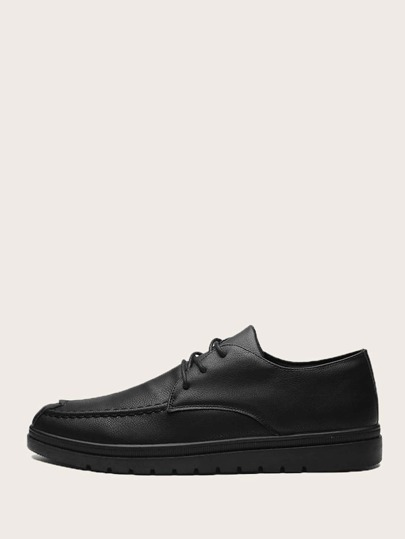 Men Lace-up Front Dress Shoes