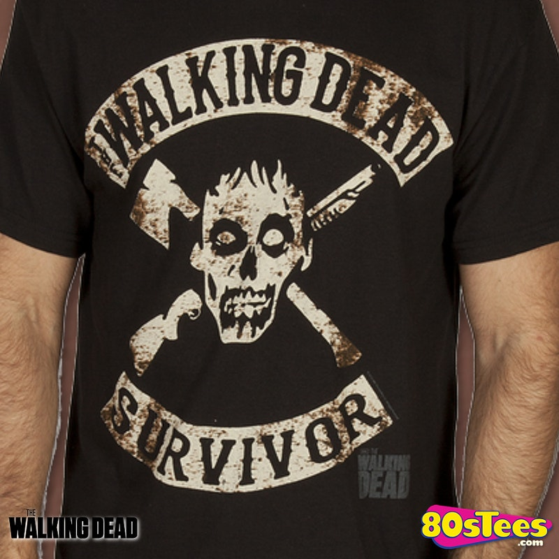 Survivor Walking Dead Shirt
