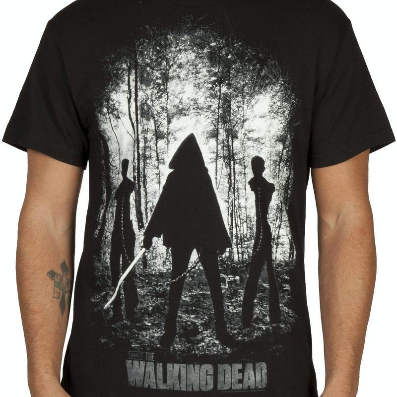 Michonne Walkers Walking Dead Shirt