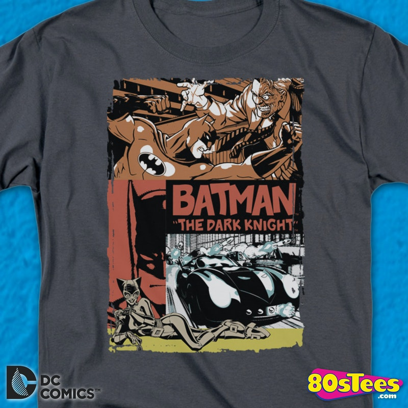 The Dark Knight Batman Collage T-Shirt