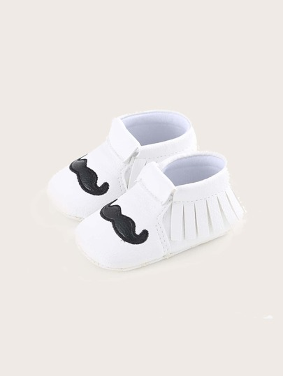 Baby Girl Fringe Decor Flats