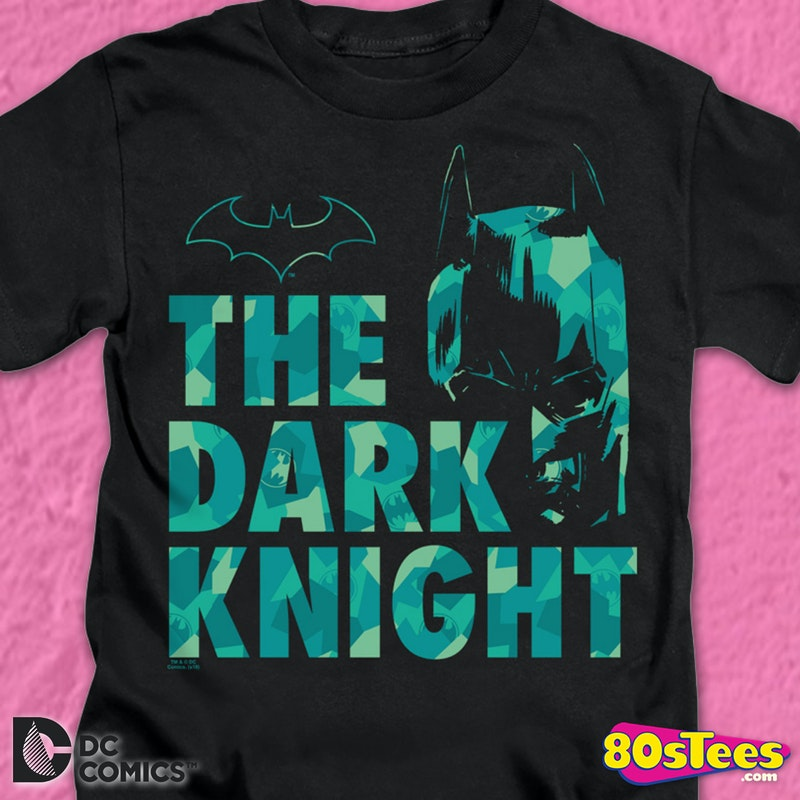 Youth Batman The Dark Knight DC Comics Shirt