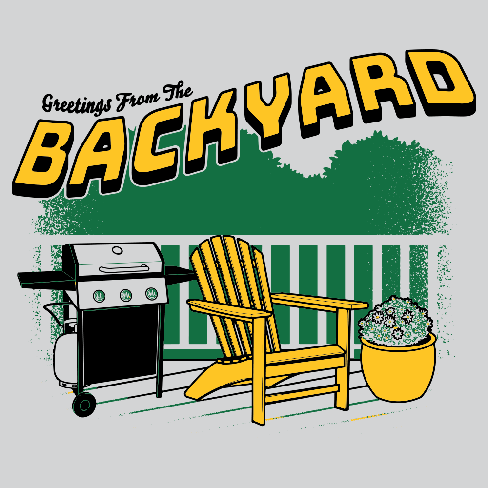 Greetings From The Backyard T-Shirt | SnorgTees