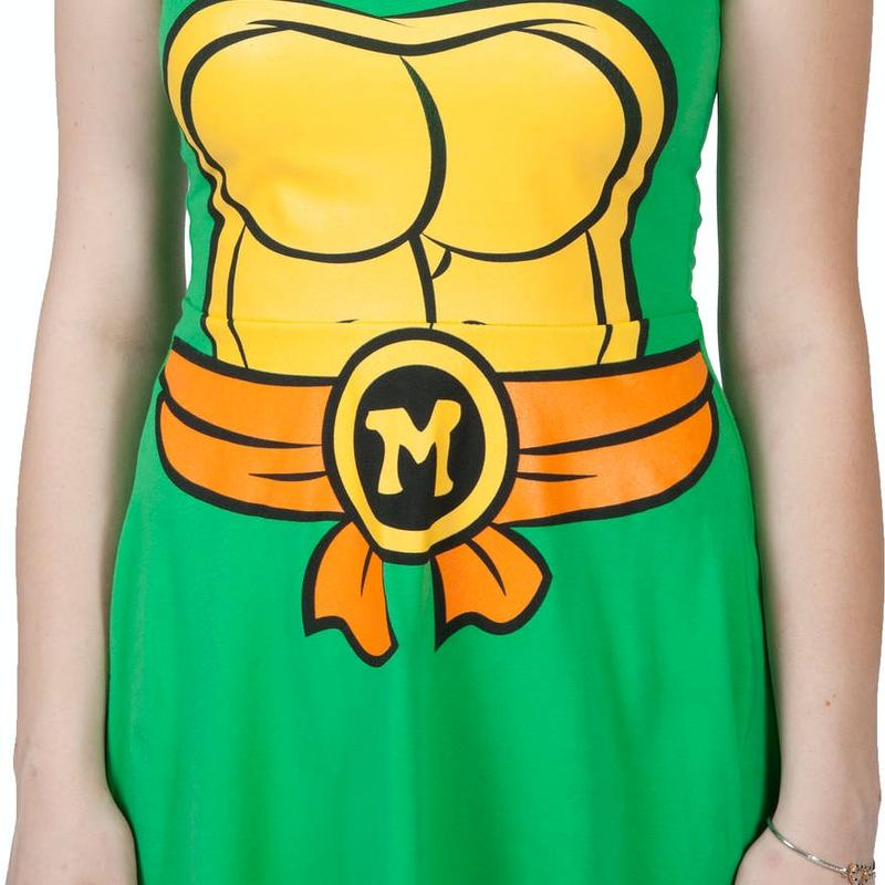 Michelangelo Skater Dress