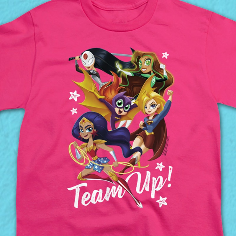 Youth Team Up DC Super Hero Girls Shirt