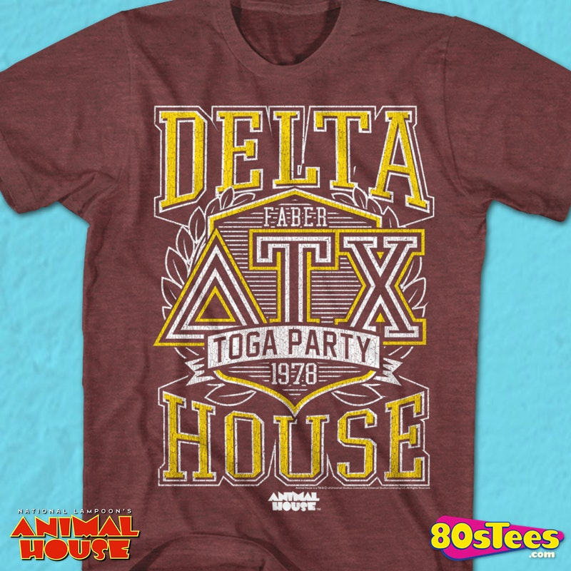Delta House Toga Party Animal House T-Shirt