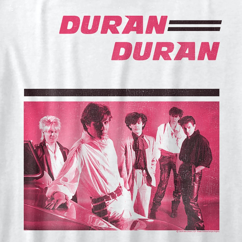 Ladies Debut Album Duran Duran Shirt