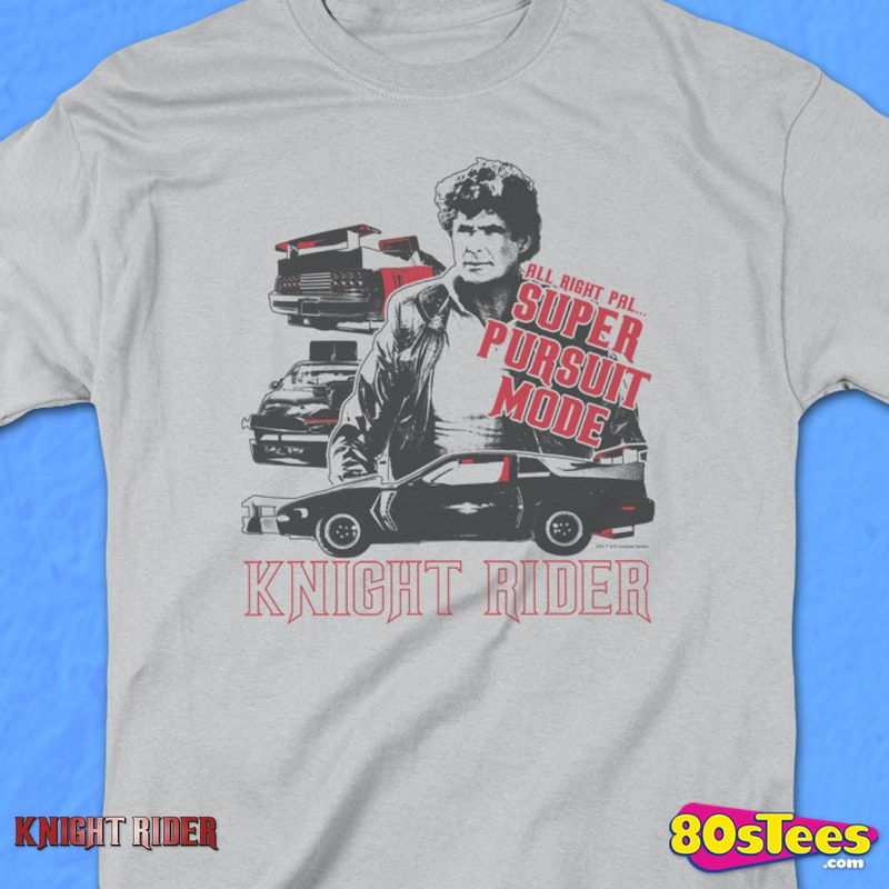 Super Pursuit Mode Knight Rider T-Shirt