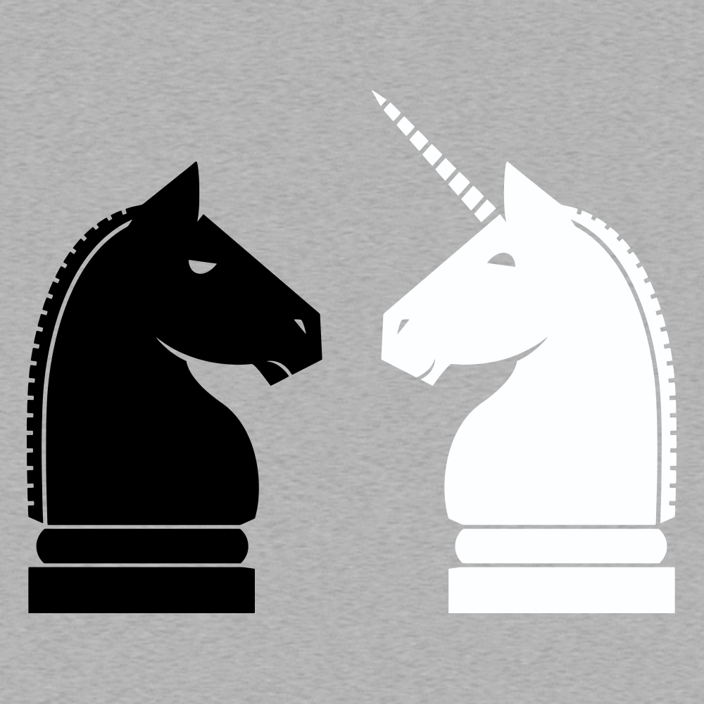 Chess Unicorn T-Shirt | SnorgTees