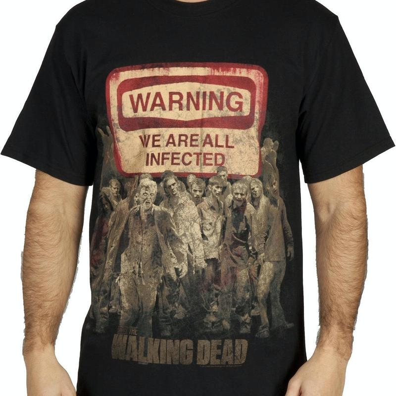 Infected Walking Dead Shirt