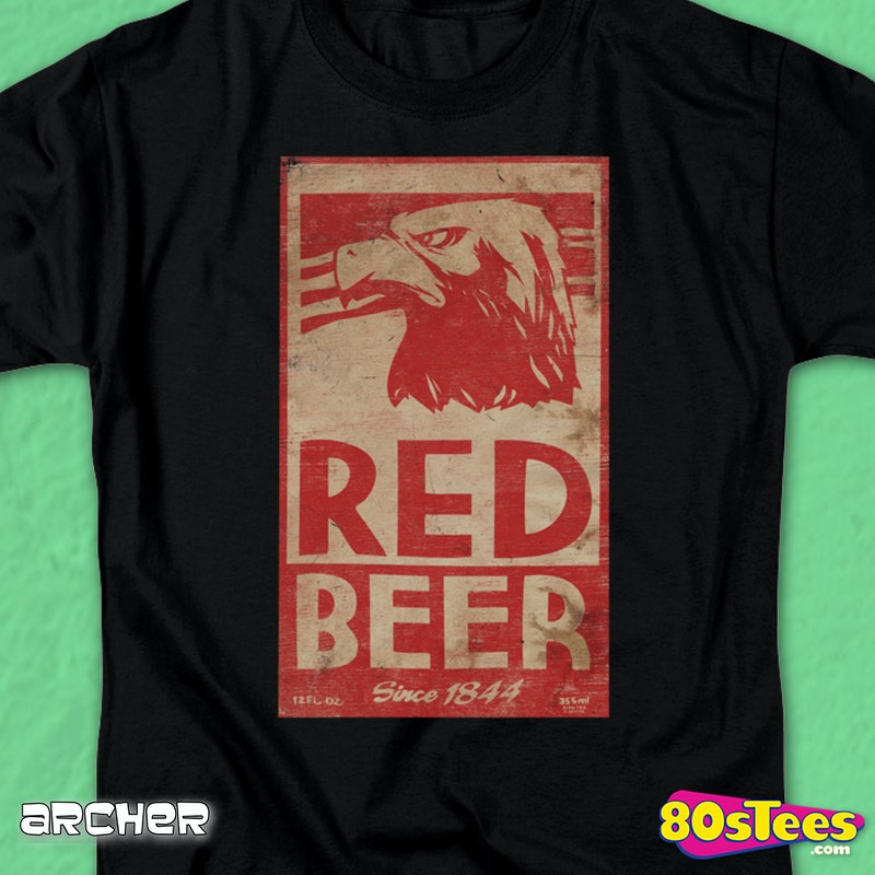 Red Beer Archer T-Shirt