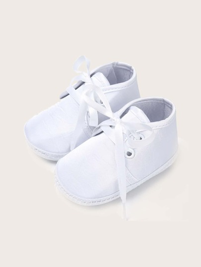 Baby Girl Lace-up Front Flats