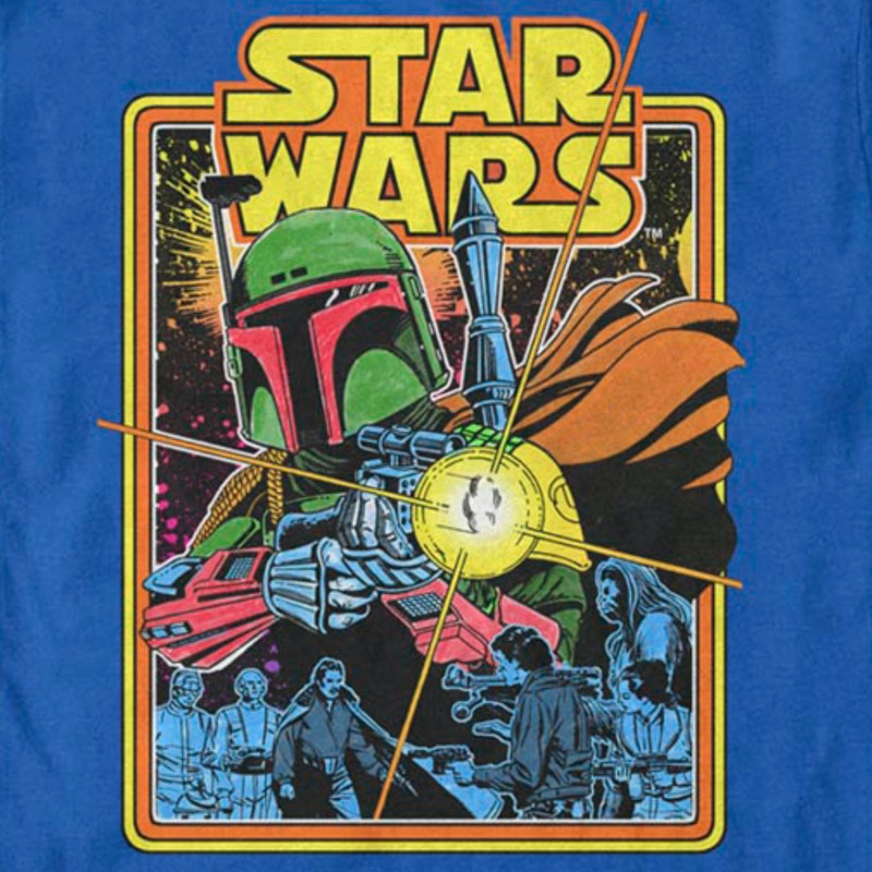 Boba Fett The Search Begins Star Wars T-Shirt