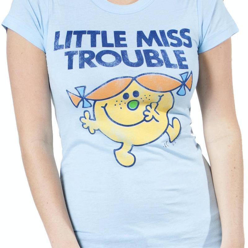 Powder Little Miss Trouble T-Shirt by Junk Food
